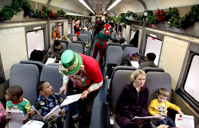 Cleveland s own polar express at the cuyahoga valley for What is the best polar express train ride