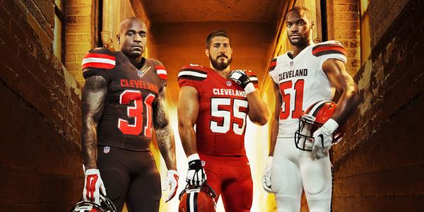 CLEveland Browns New Uniforms – Representing Spirit of CLE's Recent Transformation