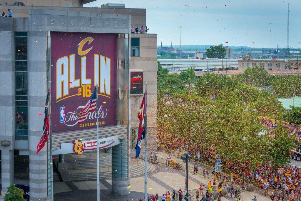 CLEveland Cavaliers NBA Championship Parade